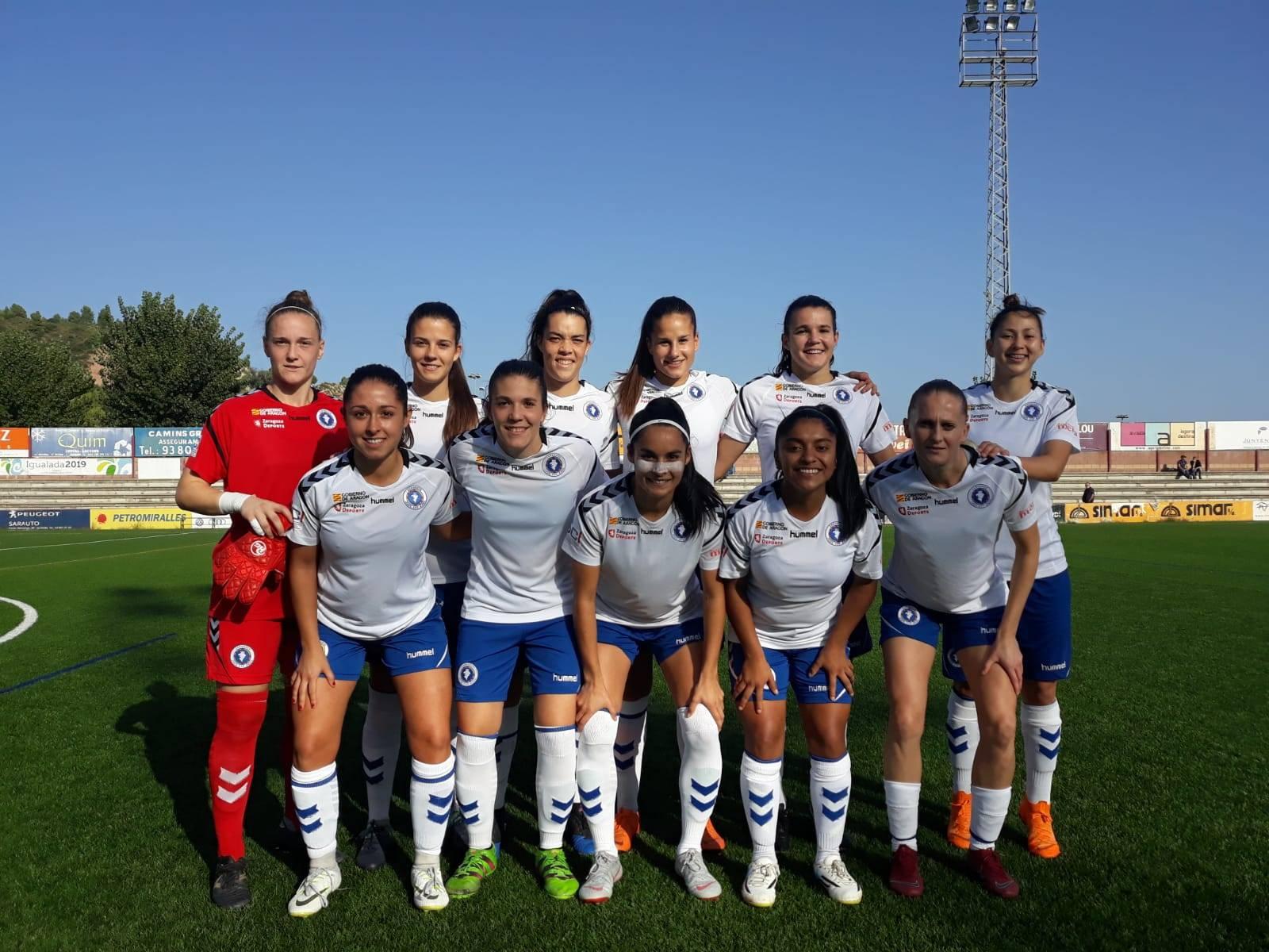 320760d928bc2 Merecida victoria del Zaragoza CFF en Igualada - Página oficial del Zaragoza  Club de Fútbol Femenino