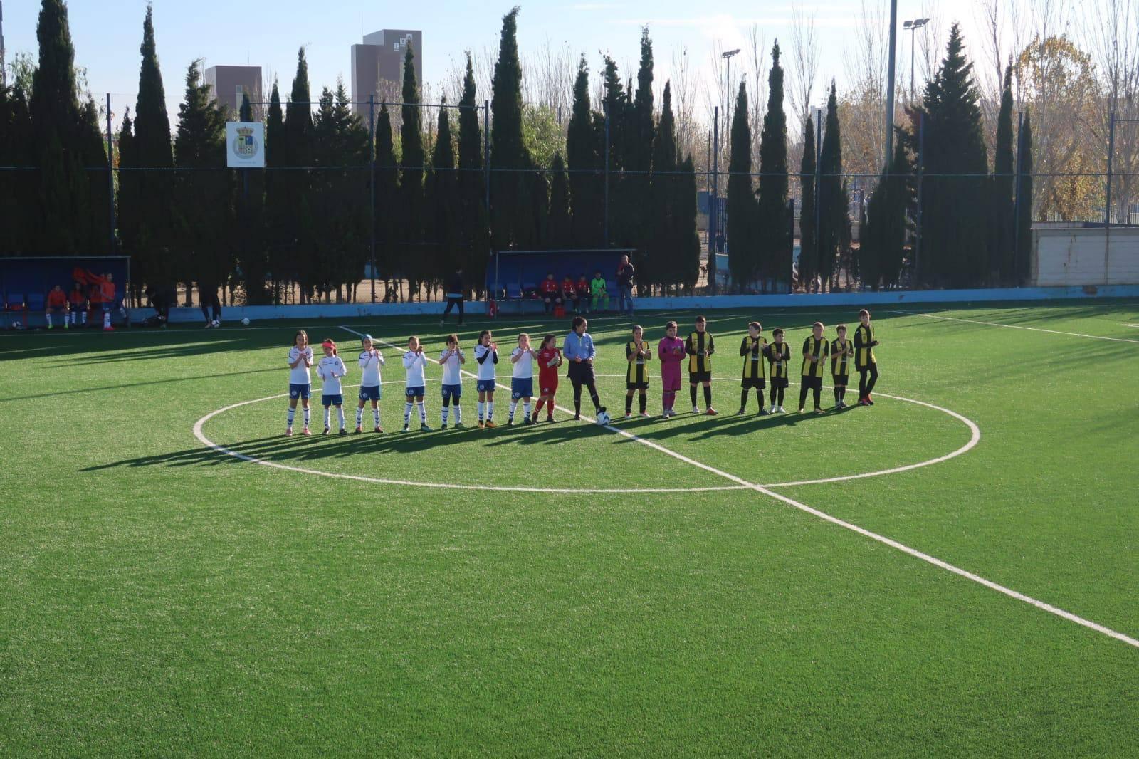 3b8c46ecba1f8 Crónicas de las categorías Alevín 8 y Benjamín de este fin de semana -  Página oficial del Zaragoza Club de Fútbol Femenino