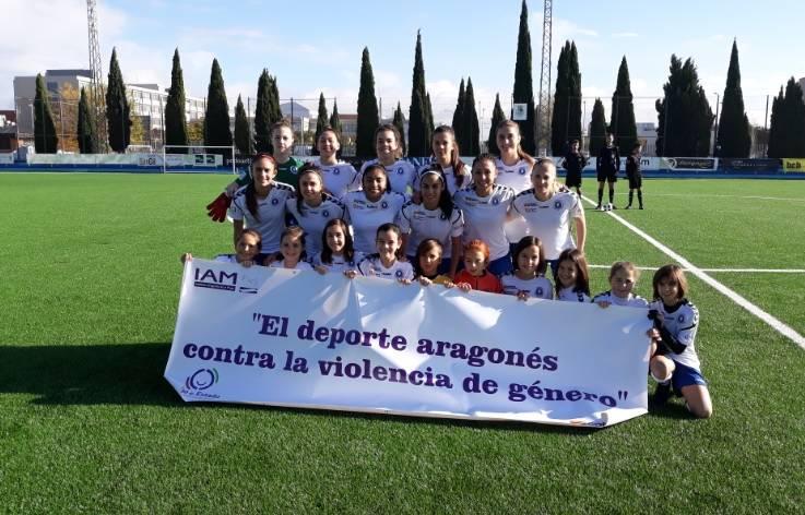 65ff8a11aa457 Merecida victoria del Zaragoza CFF en liga ante el FC Barcelona B ...