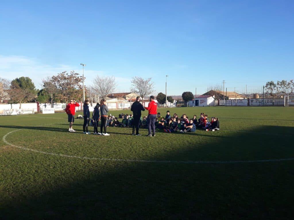 ZaragozaCFF entrenando