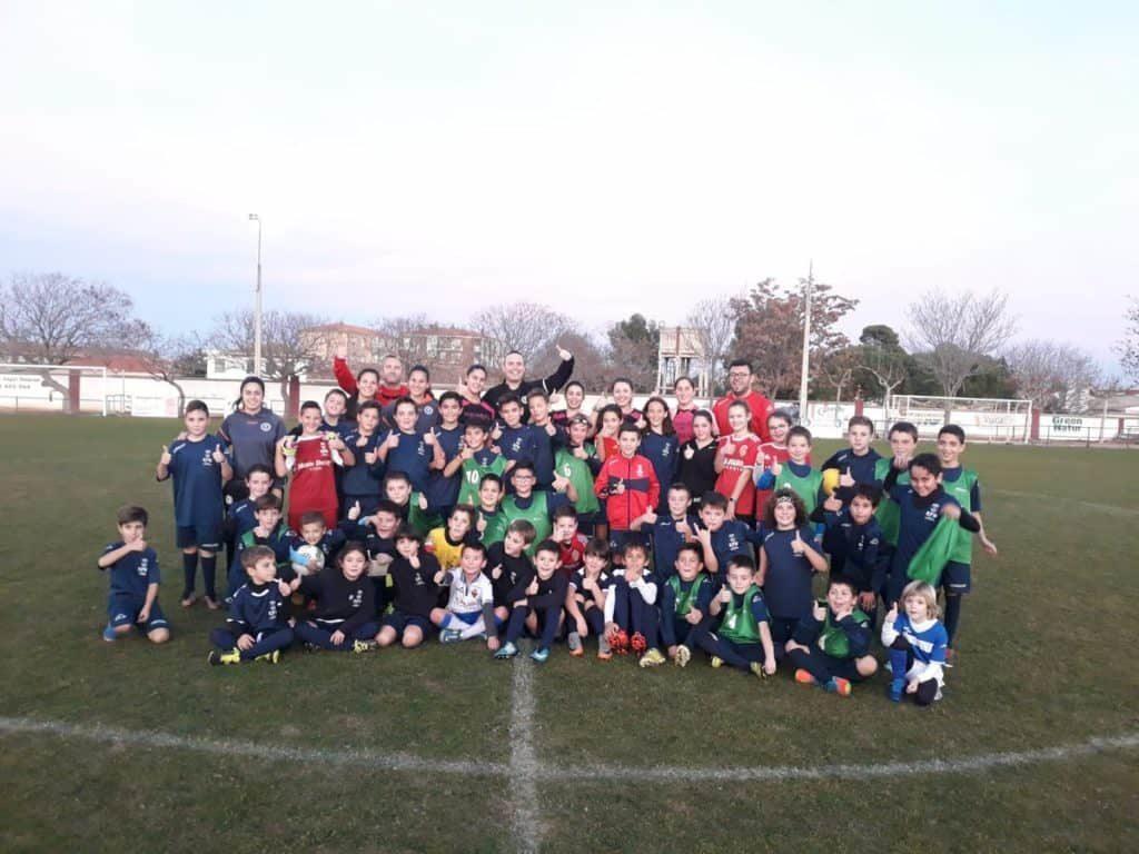 ZaragozaCFF base de fútbol