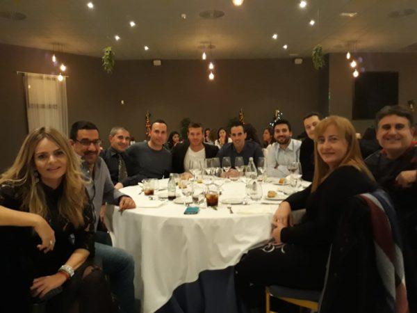 Cena Navidad Zaragoza CFF