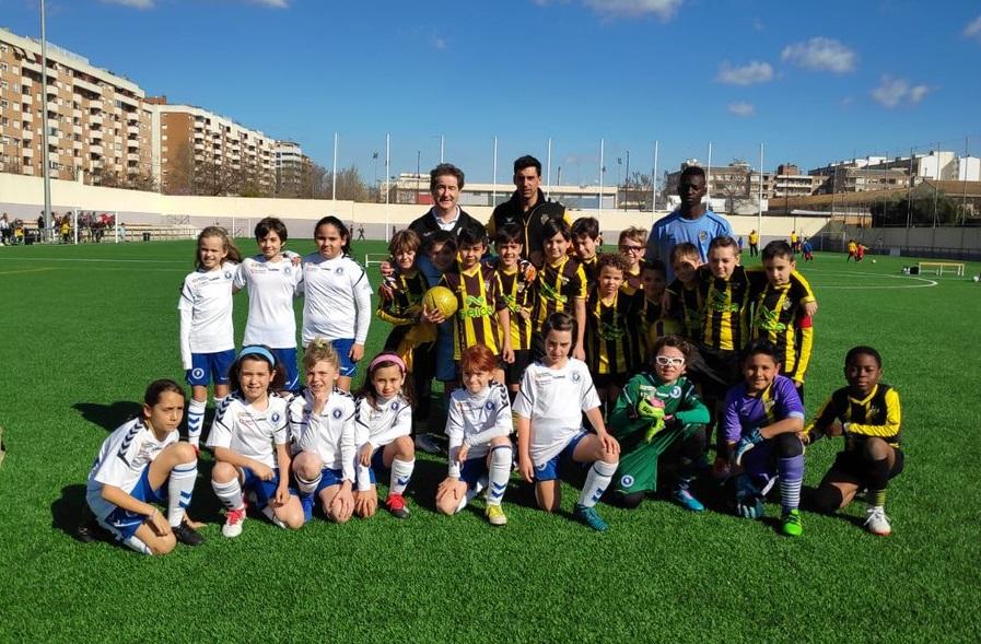 34780ad1f83bc Buena jornada de los equipos Alevín y Benjamín del Zaragoza CFF - Página  oficial del Zaragoza Club de Fútbol Femenino