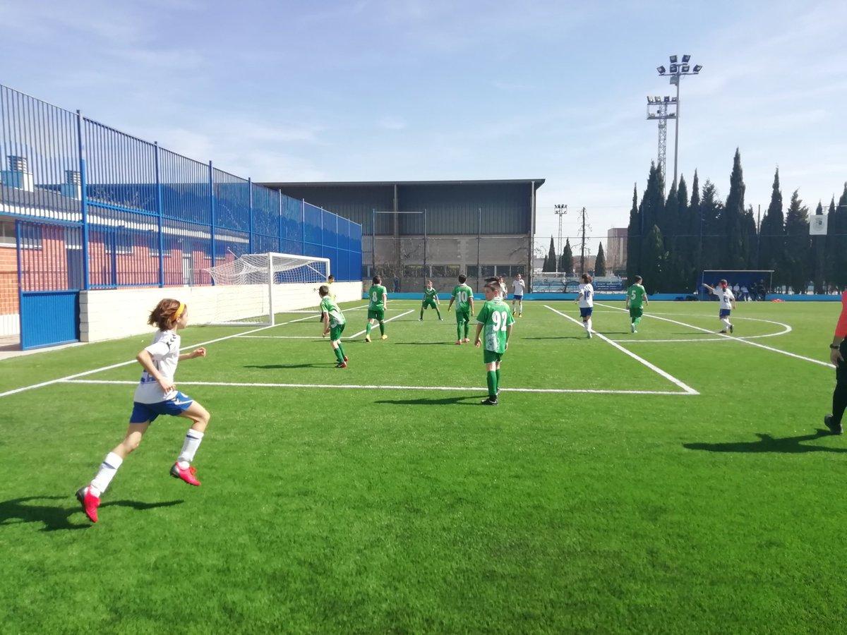 8bac8a26ac69d Partidos del fin de semana de los equipos Alevín y Benjamín del Zaragoza CFF