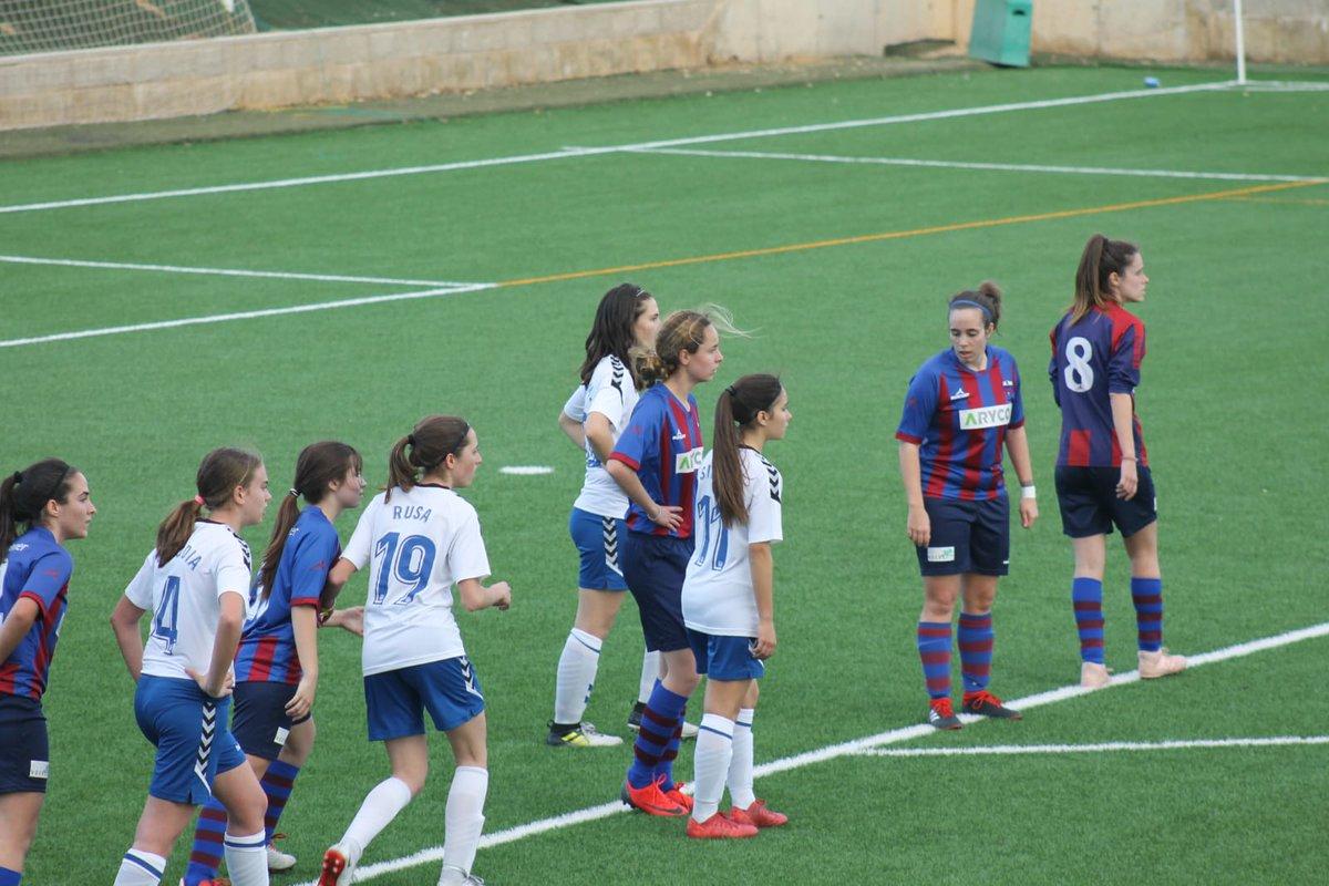 6e8e258e8774b Crónica de los partidos de la liga territorial 17 03 2019 FEMENINO (GRUPO  2) – Jornada 24 ZARAGOZA CFF   ...